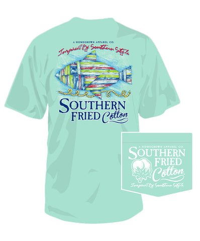 Southern Fried Cotton - Drift This Way Tee