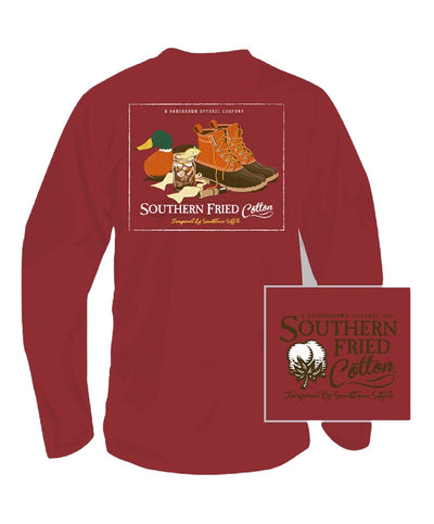 Southern Fried Cotton - Duck Necessities Long Sleeve Tee