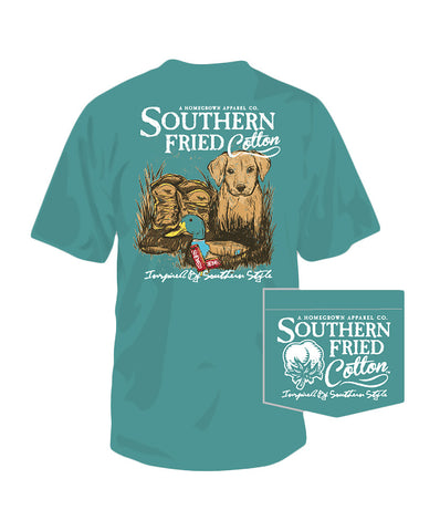 Southern Fried Cotton - Duck Boots Tee