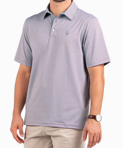 Southern Shirt Co - Hamilton Stripe Performance Polo