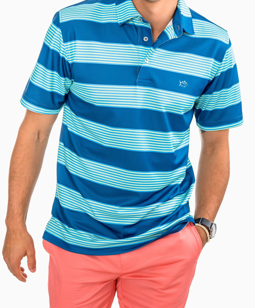 Southern Tide - Jennings Hill Stripe Performance Polo
