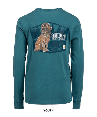 Southern Shirt Co - Youth Boykin Spaniel Long Sleeve Tee