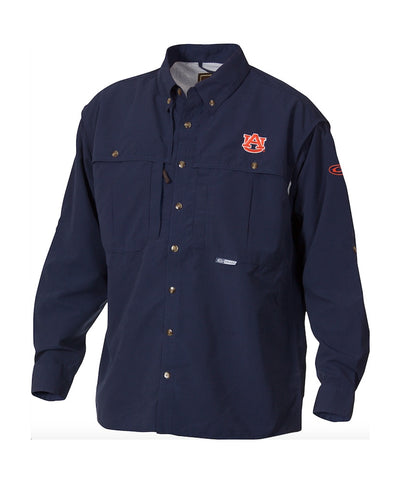 Drake - Auburn Wingshooter's Long Sleeve Shirt