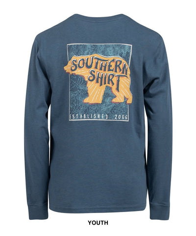 Southern Shirt Co - Youth Bear Necessities Long Sleeve Tee