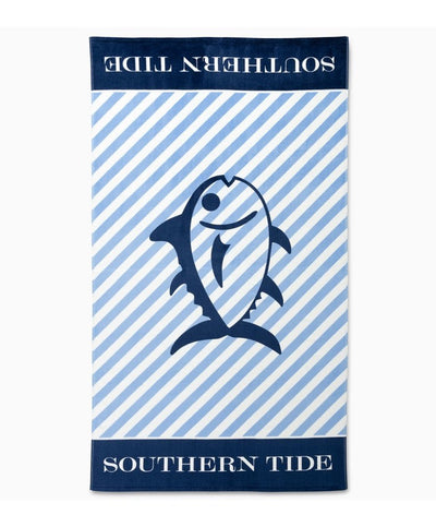 Southern Tide - Stripe Beach Towel