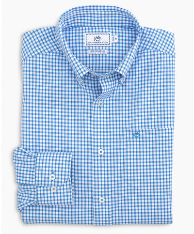 Southern Tide - Awash Check Intercoastal Sport Shirt