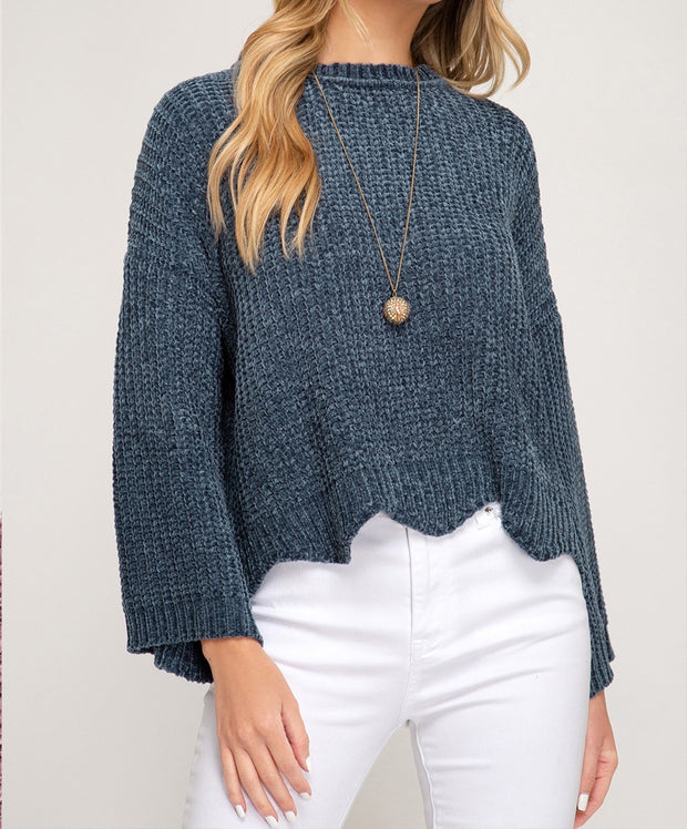 Keep It Real Chenille Sweater