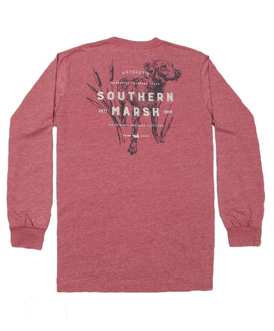 Southern Marsh - Seawash Long Sleeve Tee - Dog