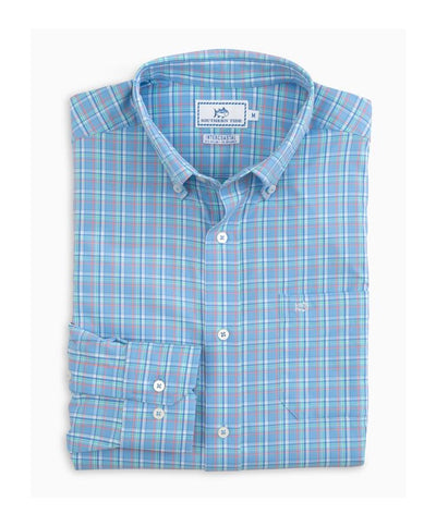 Southern Tide - Watersedge Plaid Intercoastal Sportshirt