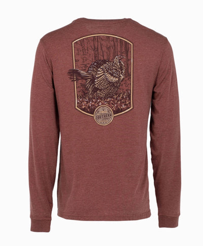 Southern Shirt Co - Wild Turkey Long Sleeve Tee