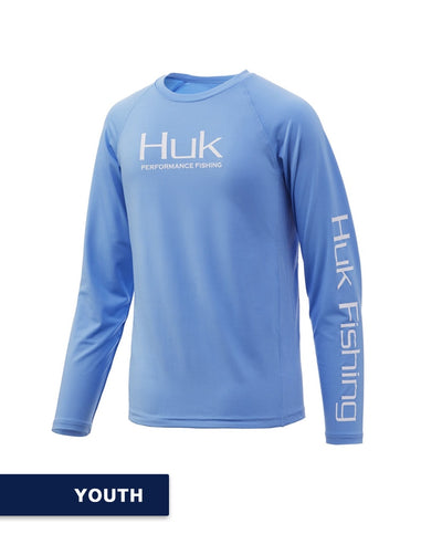 Huk - Youth Pursuit Vented Long Sleeve