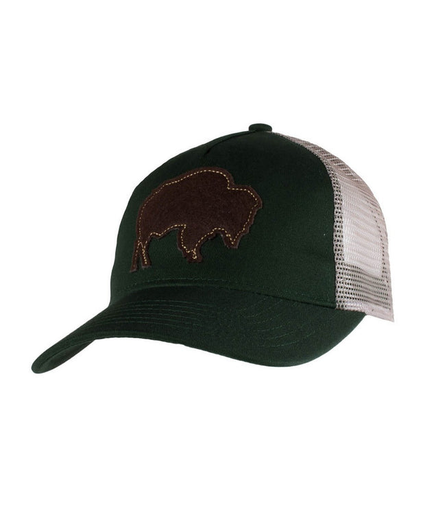 Mountain Khakis - Bison Patch Trucker Cap