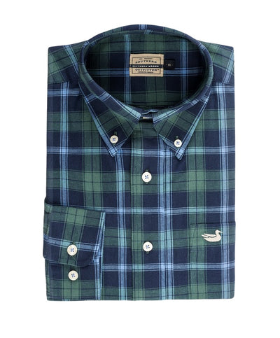 Southern Marsh - Williamson Washed Plaid Shirt