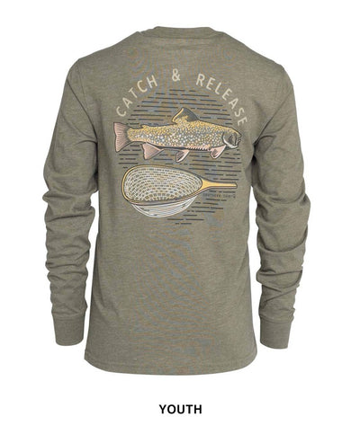 Southern Shirt Co - Boys Catch and Release Long Sleeve Tee