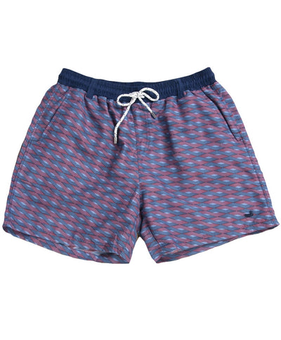 Southern Marsh - Dockside Swim Trunk - Lattice