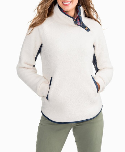 Southern Tide - Laura Fleece Pullover Sweater