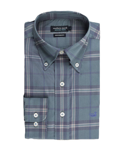 Southern Marsh - Marion Performance Plaid Shirt