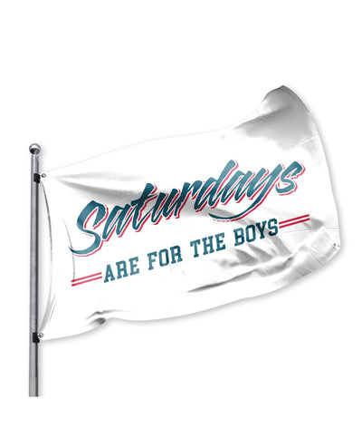 Old Row - Saturdays Are For The Boys Flag