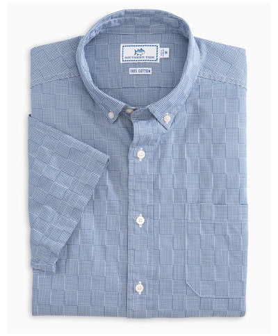 Southern Tide - Patchwork Short Sleeve Shirt