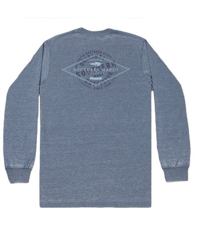 Southern Marsh - Seawash Long Sleeve Tee - Diamond Stamp