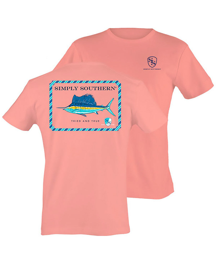 Simply Southern - Fish Tee