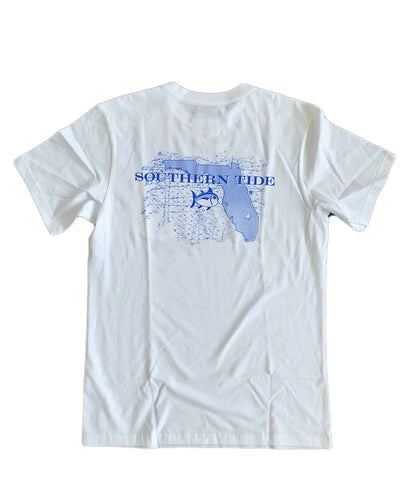 Southern Tide - State T: Florida - White Back