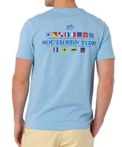 Southern Tide - Nautical Flags T-Shirt - Ocean Channel