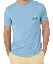 Southern Tide - Nautical Flags T-Shirt - Ocean Channel Front