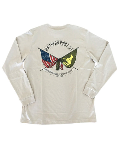 Southern Point - Flags Long Sleeve Tee