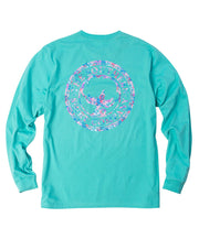 Southern Shirt Co - Floral Logo Long Sleeve Tee