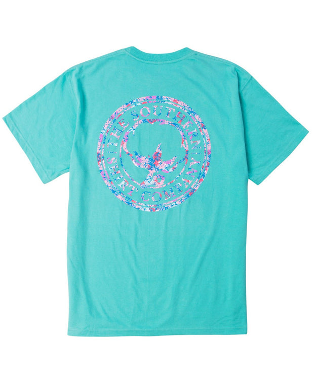Southern Shirt Co - Floral Logo Tee