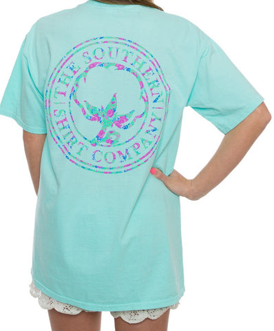 Southern Shirt Co - Flower Logo Tee