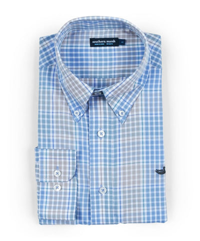 Southern Marsh - Miller Gingham Long Sleeve
