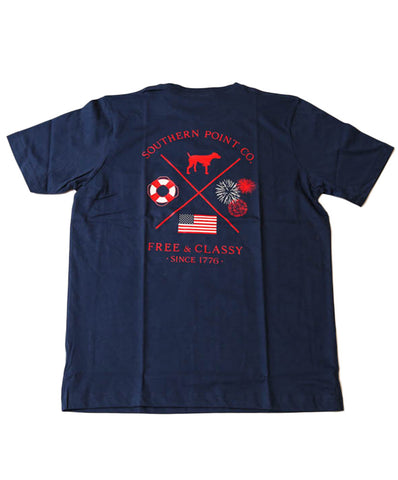 Southern Point - Free & Classy Signature Tee