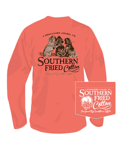 Southern Fried Cotton - Best Friends Long Sleeve Tee