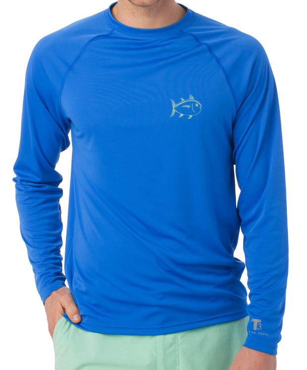 Southern Tide - Skipjack Performance Long Sleeve Tee