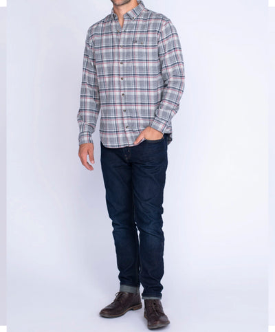Southern Shirt Co - Kirkwood Heather Flannel Shirt