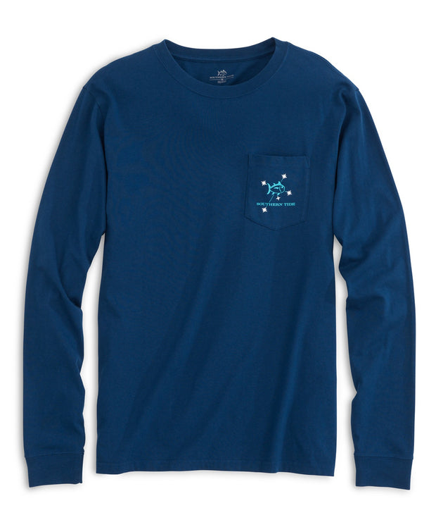 Southern Tide - Mens Southern Cross Long Sleeve Tee
