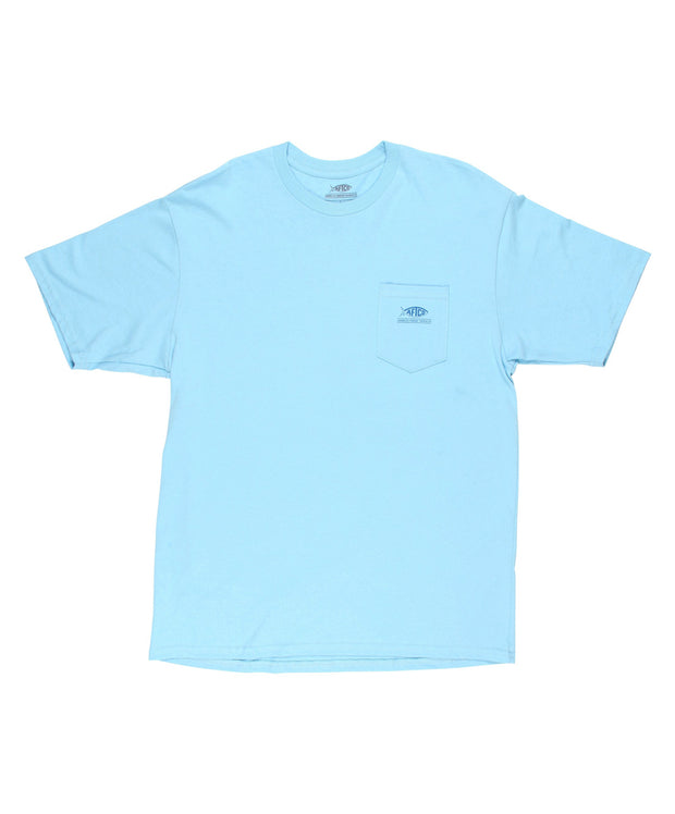 Aftco - Flipper Cotton Pocket Tee