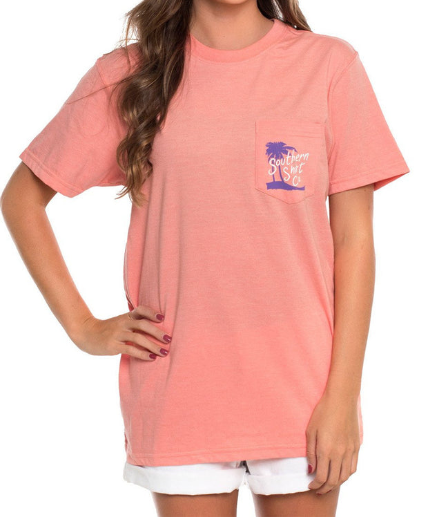 Southern Shirt co - Tropical Adventure Heather Tee