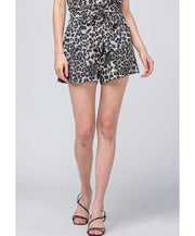 On The Prowl Leopard Shorts