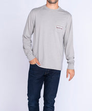 Southern Shirt Co - Mountain Stamp Long Sleeve Tee