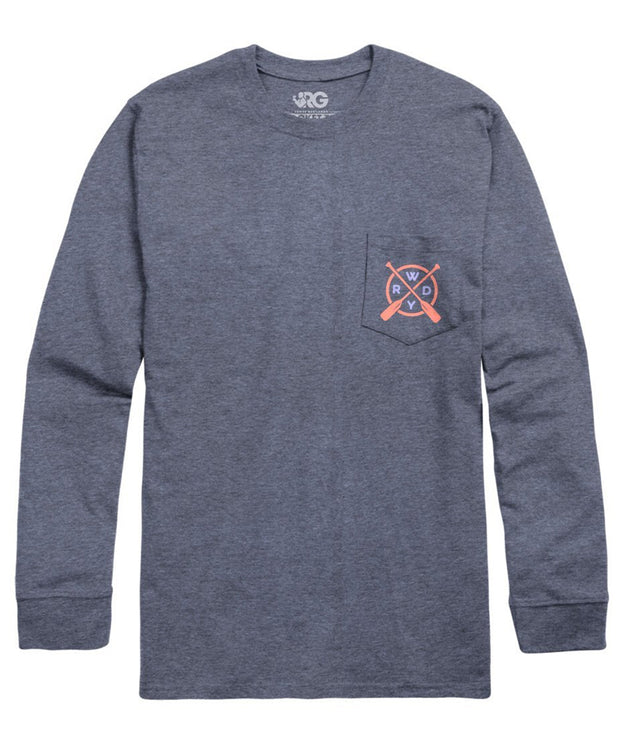 Rowdy Gentleman - Main Stream Long Sleeve Pocket Tee