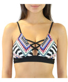 Heat Swimwear - Criss-Cross Bralette