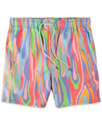 Rowdy Gentleman - Rainbow Eucalyptus Swim Trunks