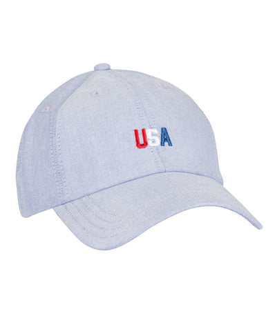 Rowdy Gentleman - USA Tri-Color Dad Cap