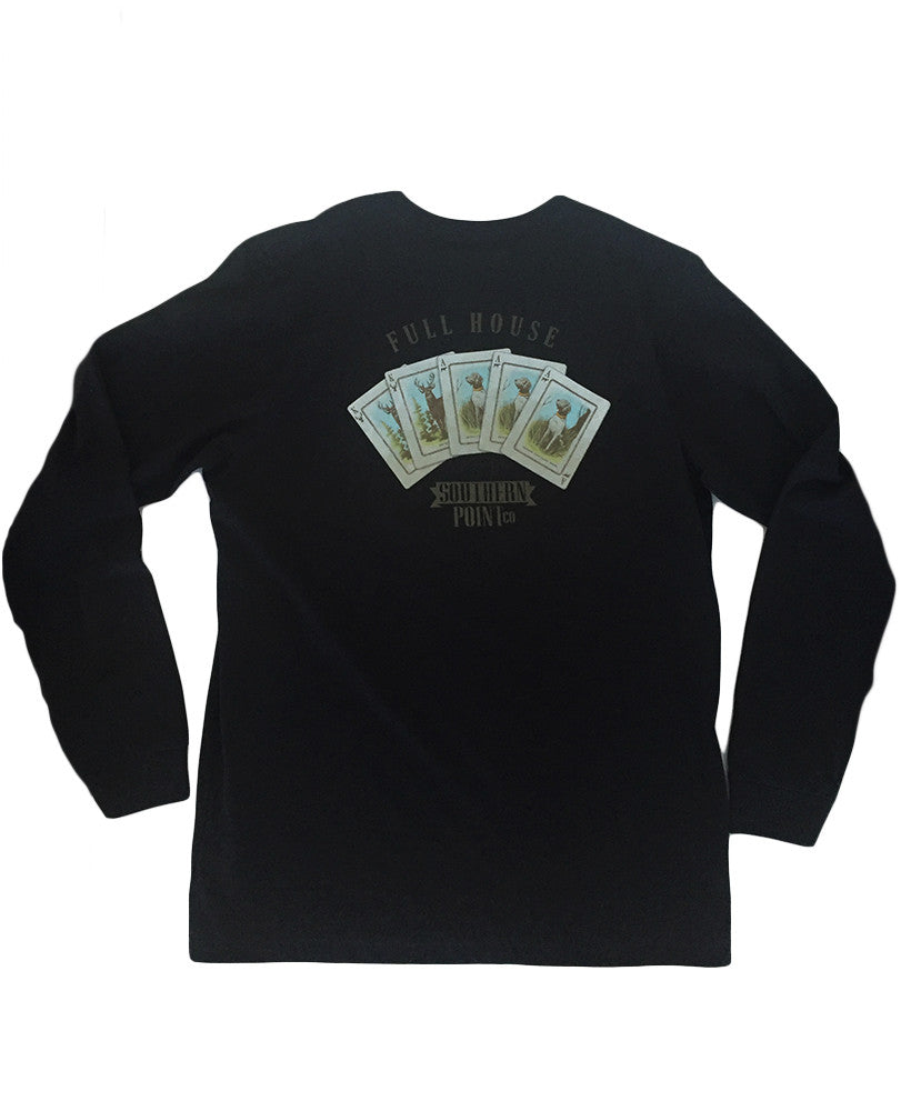 Southern Point - Full House Long Sleeve Tee