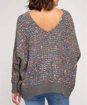 Happy Days V-neck Sweater