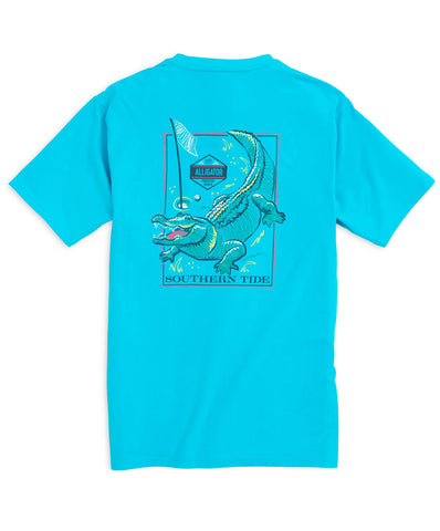 Southern Tide - Predator Series Tee - Alligator