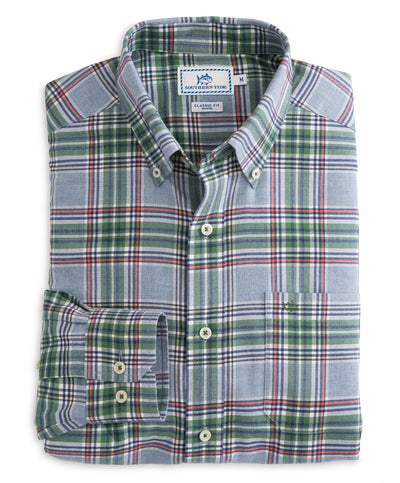 Southern Tide - Acadian Plaid Sportshirt
